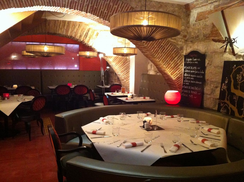 O manger et boire dans l 39 aube en champagne - Restaurant la table de francois troyes ...